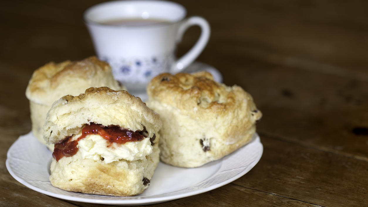 Scones aus dem britischen Königshaus - für royale Stimmung in Ihrer Küche!