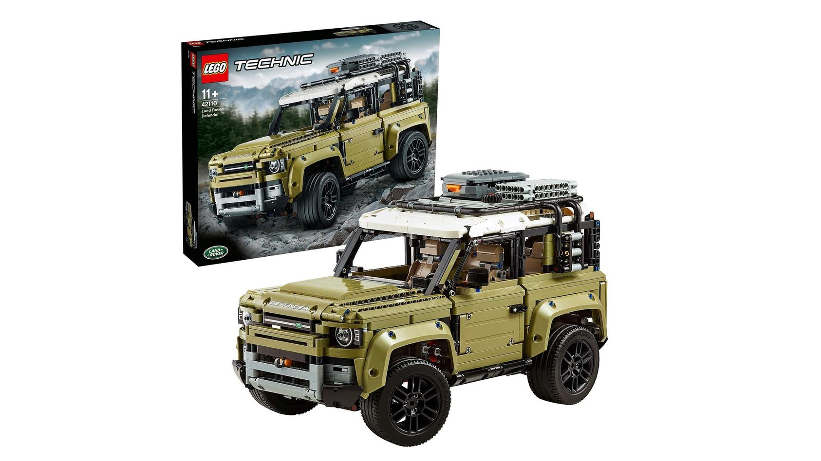 Media Markt-Schnäppchen: Der Land Rover Defender von Lego Technik kostet am 20. Mai nur 109 statt 179 Euro.