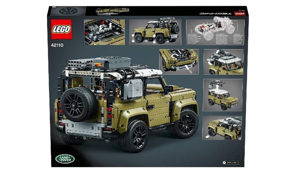 Land Rover von Lego Technik bei Media Markt