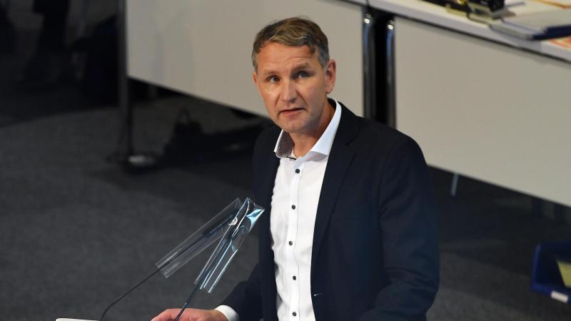 Björn Höcke, AfD-Fraktionschef in Thüringen. Foto: Martin Schutt/dpa-Zentralbild/dpa/Archivbild