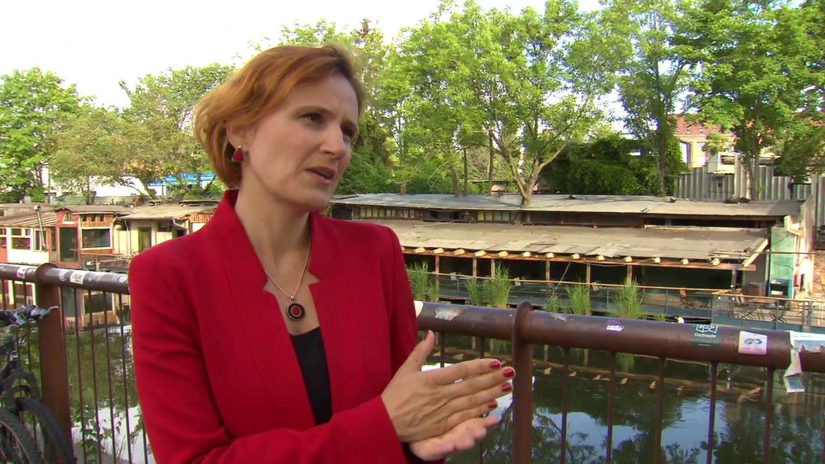 Katja Kipping fordert im RTL/ntv Frühstart Vermögensabgaben für Reiche.