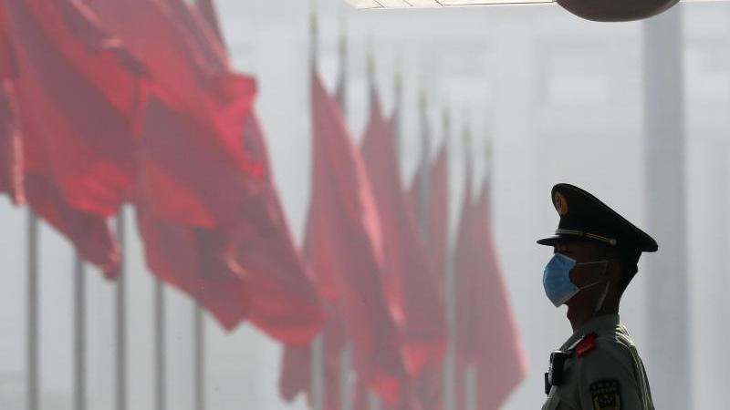 In Peking tagt der Volkskongresses. Foto: Ng Han Guan/Pool AP/dpa