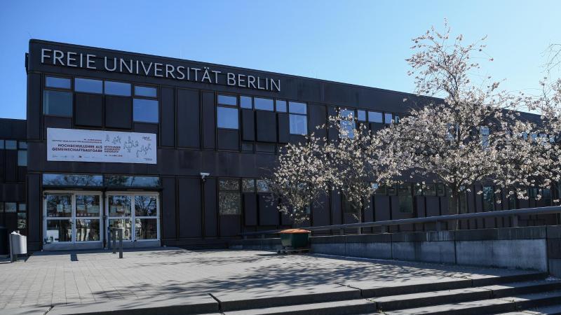 Gebäudeder Freien Universität Berlin in Dahlem. Foto: Britta Pedersen/dpa-Zentralbild/ZB/Archivbild
