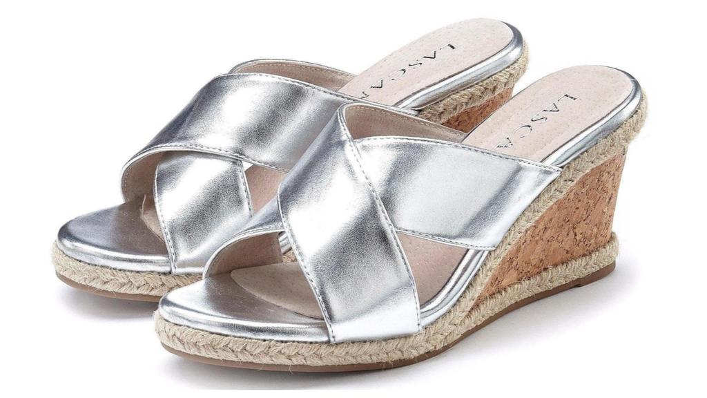 Sandalen von Lascana.