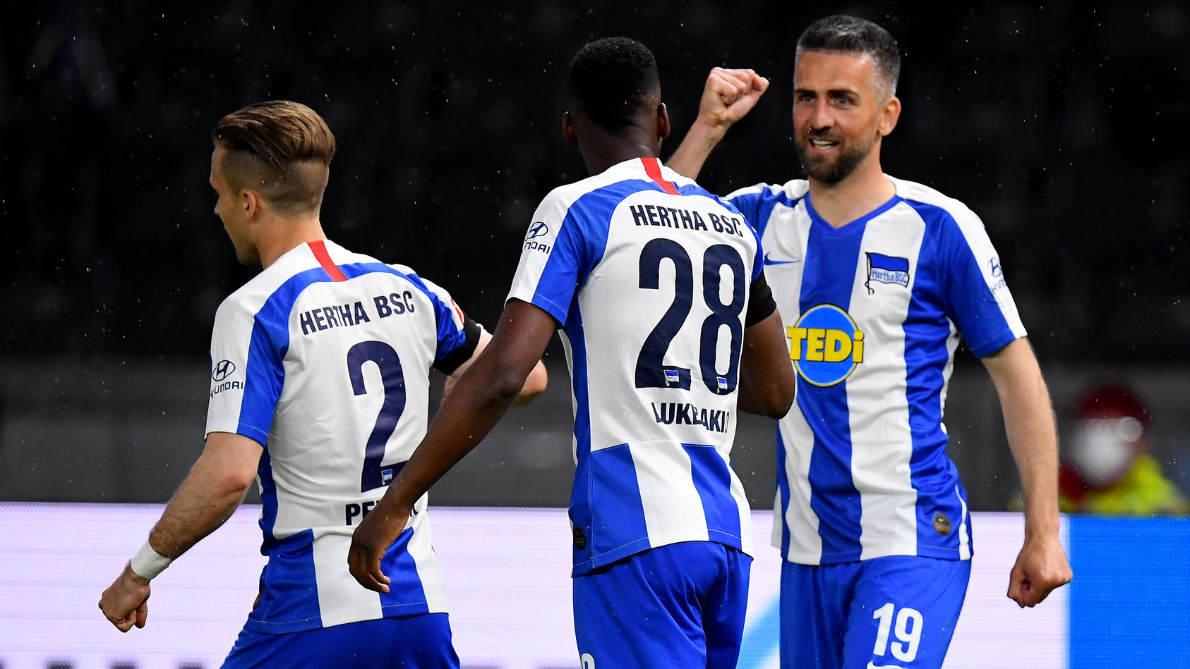 Hertha BSC v 1. FC Union Berlin - Bundesliga