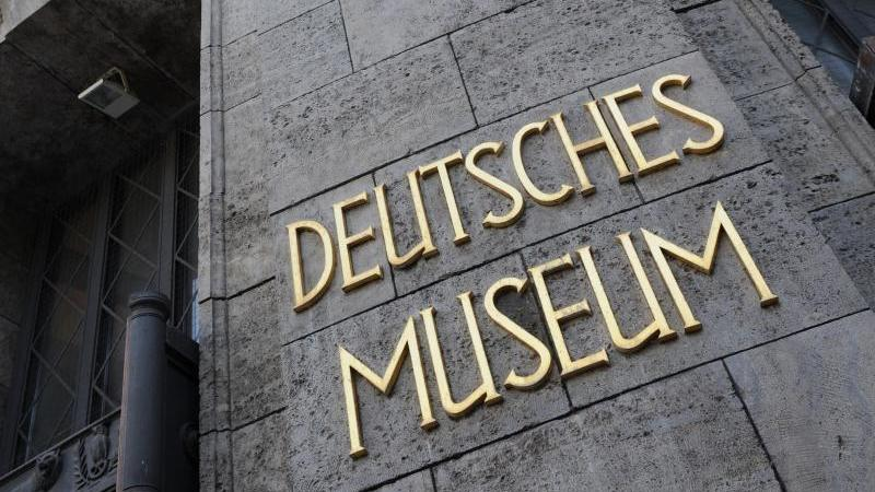 Der Eingangsbereich des Deutschen Museums in München. Foto: picture alliance / dpa / Archivbild