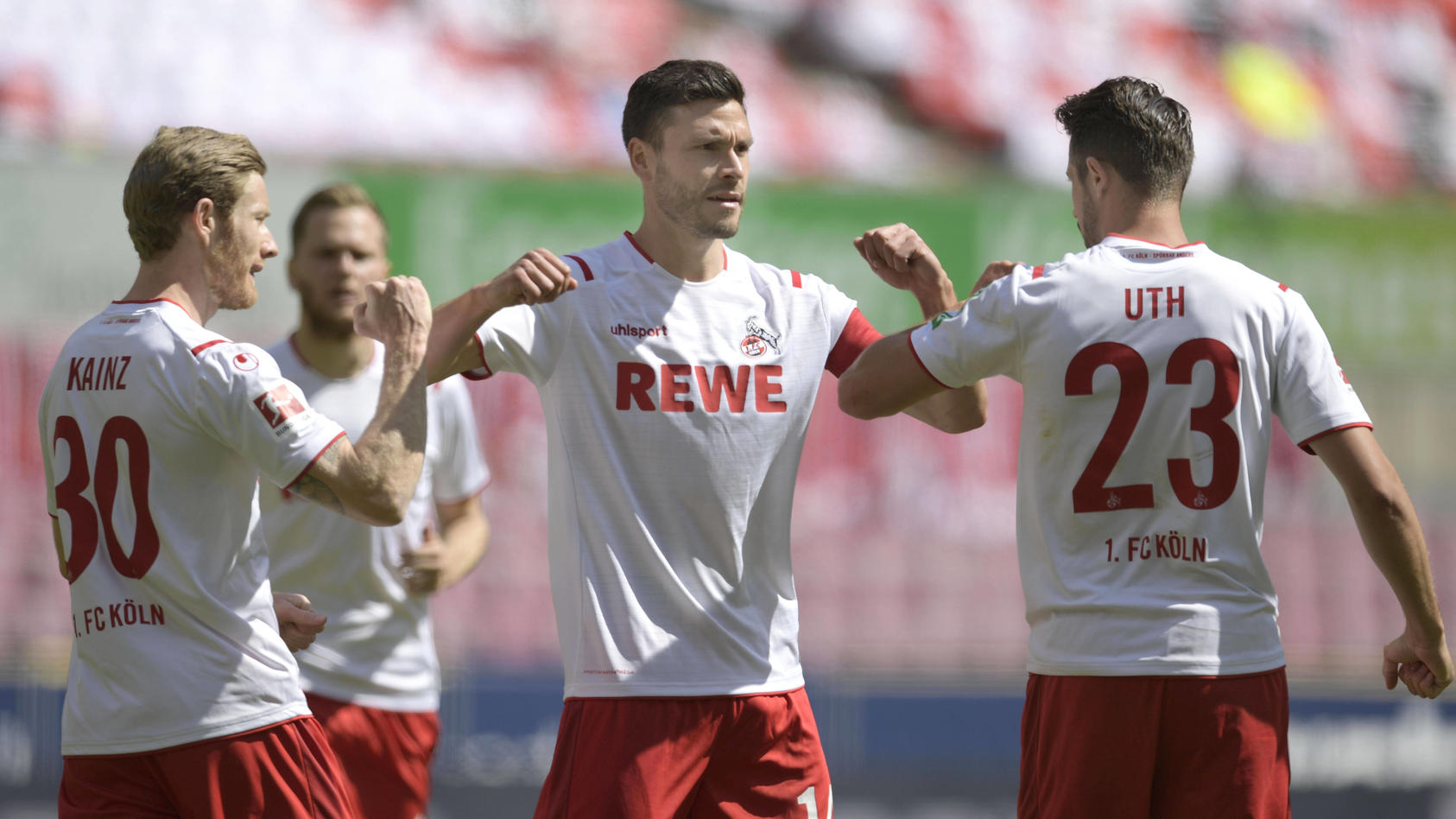 Der 1. FC Köln will gegen Fortuna Düsseldorf wieder jubeln
