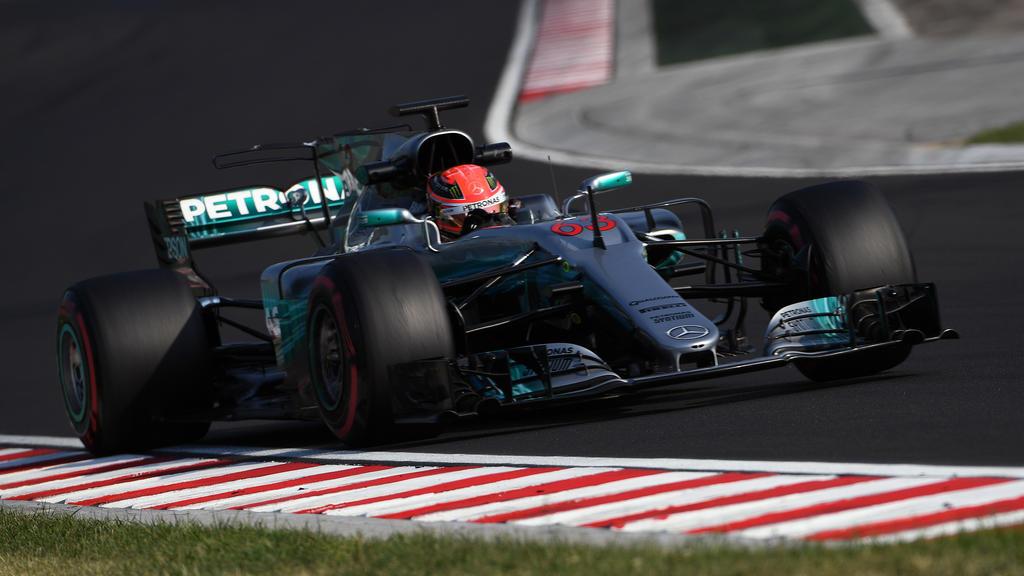 Russell 2017 im Mercedes