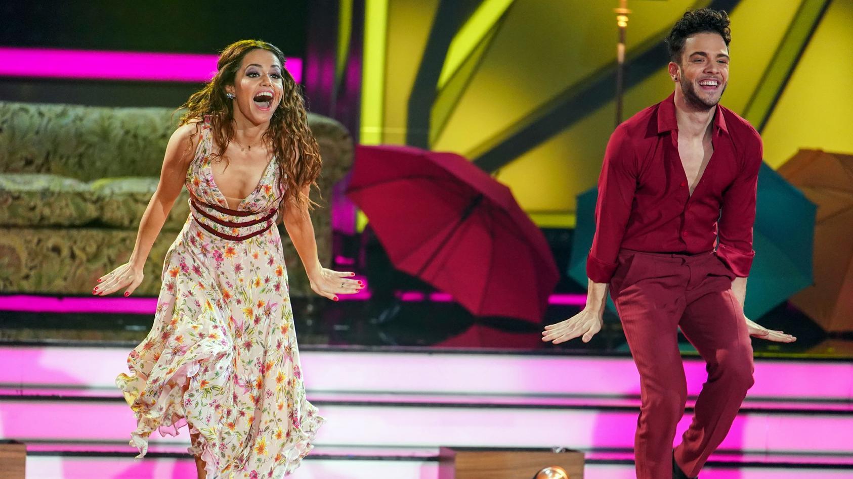 Luca Hänni und Christina Luft haben im Finale den dritten Platz belegt.