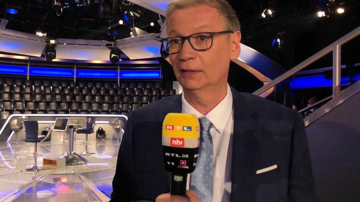 """""""Wer""""Wer wird Millionär?""""-Moderator Günther Jauch"""