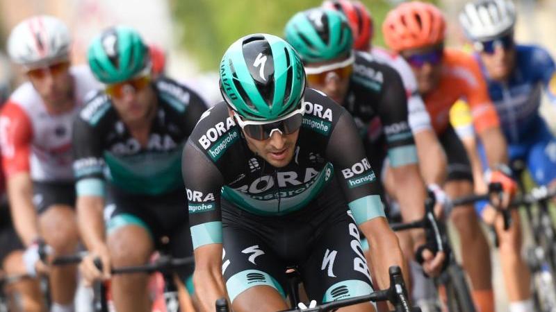 Will bei der Tour de France auf's Podium:Emanuel Buchmann. Foto: Bernd Thissen/dpa