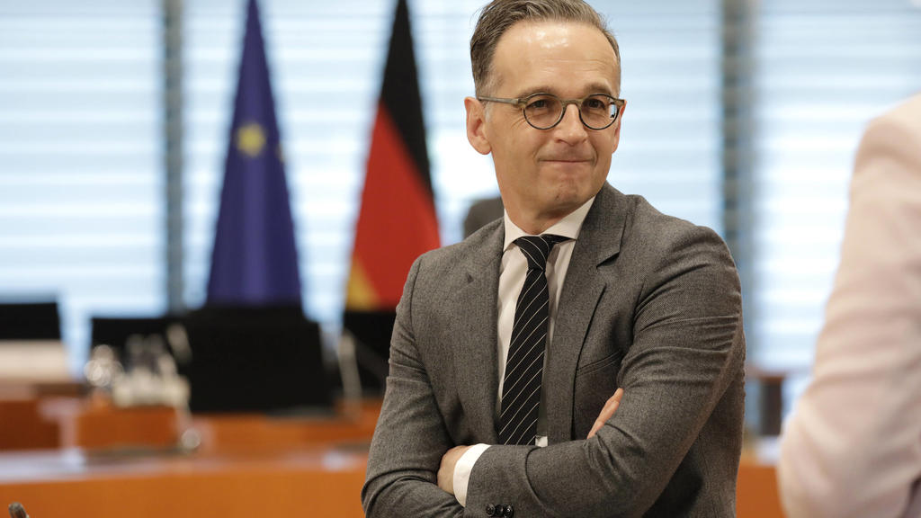 Heiko Maas, Bundesminister des Auswaertigen, SPD, Kabinettsitzung, DEU, Berlin, 20.05.2020 *** Heiko Maas, Federal Minister of Foreign Affairs, SPD, Cabinet Meeting, DEU, Berlin, 20 05 2020