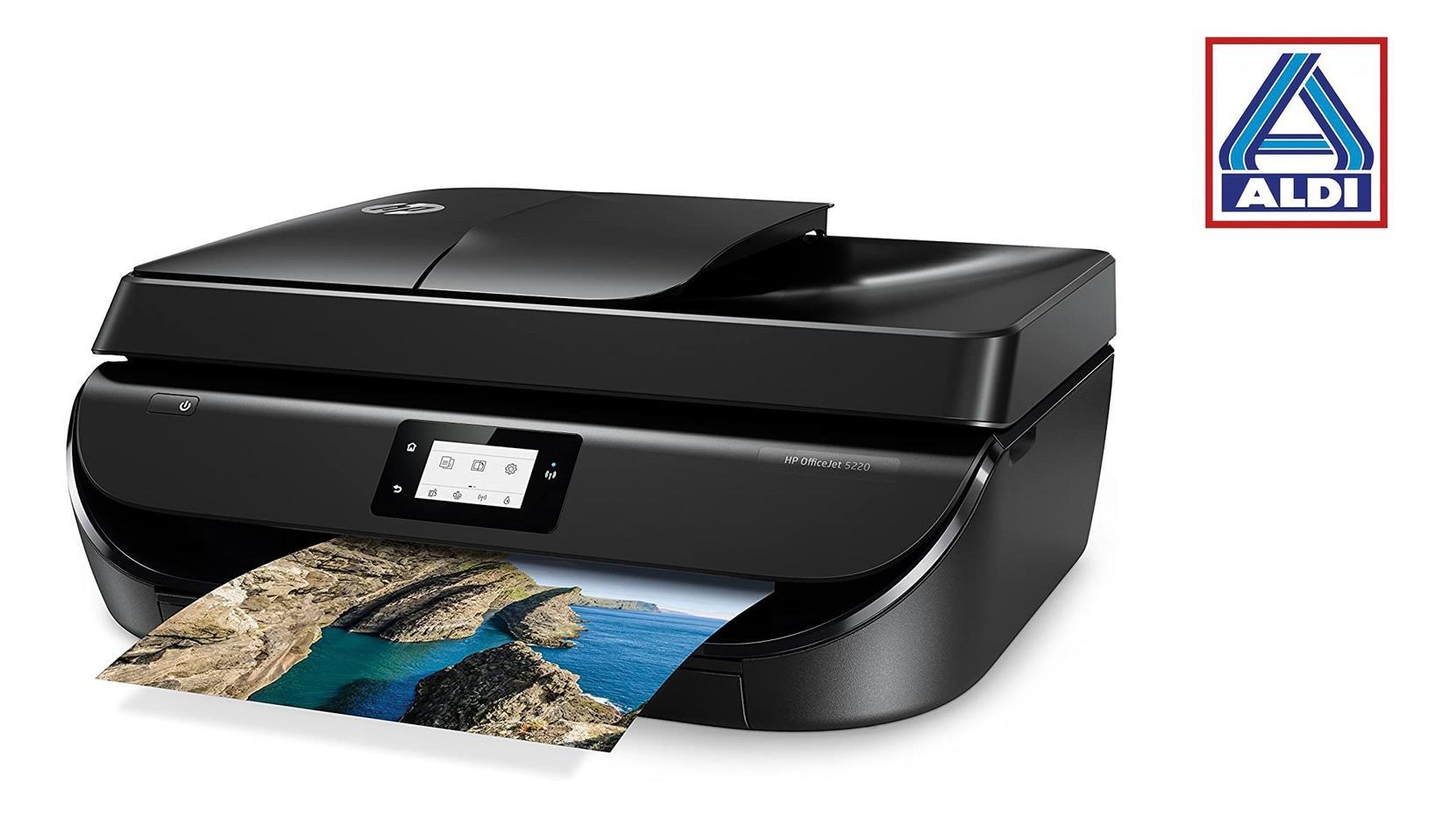 Ab dem 28. Mai gibt es bei Aldi Nord und Süd einen Multifunktionsdrucker von HP.