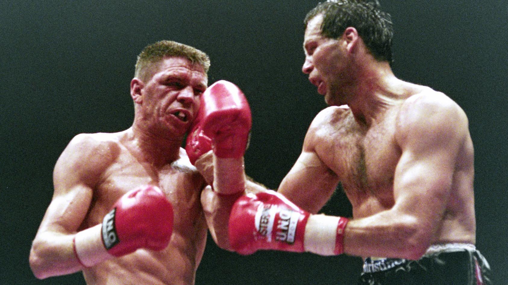 ROCCHIGIANI Graciano gegen MASKE Henry Profiboxen WM Kampf 1995 in der Westfalenhalle zwischen Henry
