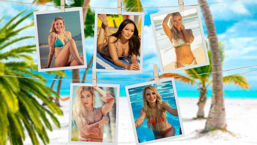"""Die Kandidatinnen der 2. Staffel von """"Paradise Hotel"""""""