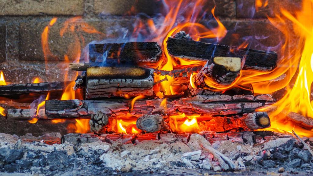 Holzkohle ist der Brennstoff für die Grillparty