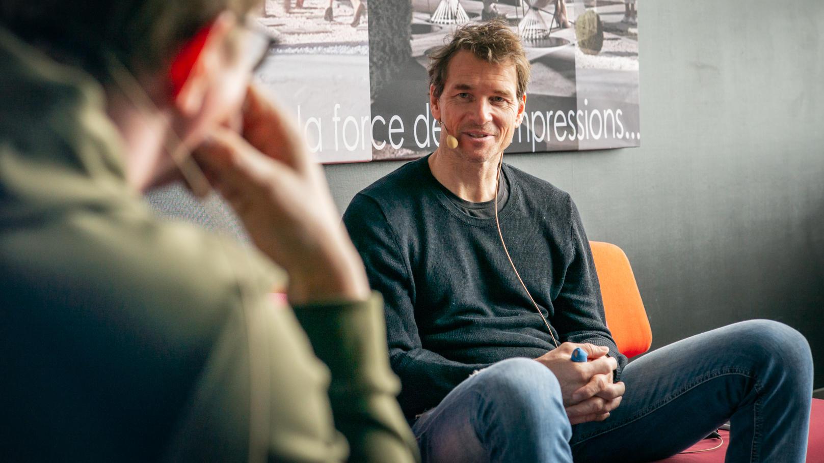 Jens Lehmann im Gespräch mit Florian König