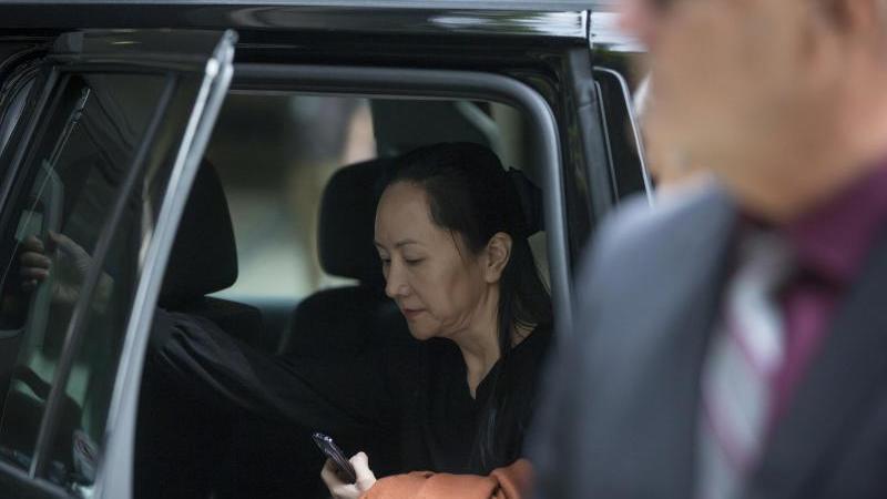 Meng Wanzhou steht seit über einem Jahr in Kanada unter Hausarrest. Foto: Darryl Dyck/The Canadian Press/AP/dpa