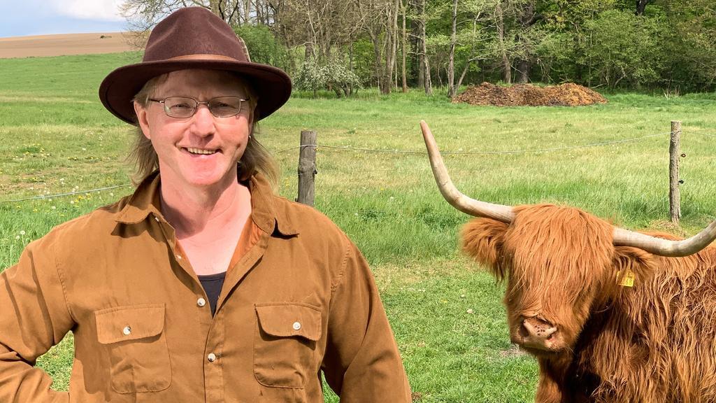 Rinderwirt Lutz (51) aus Sachsen
