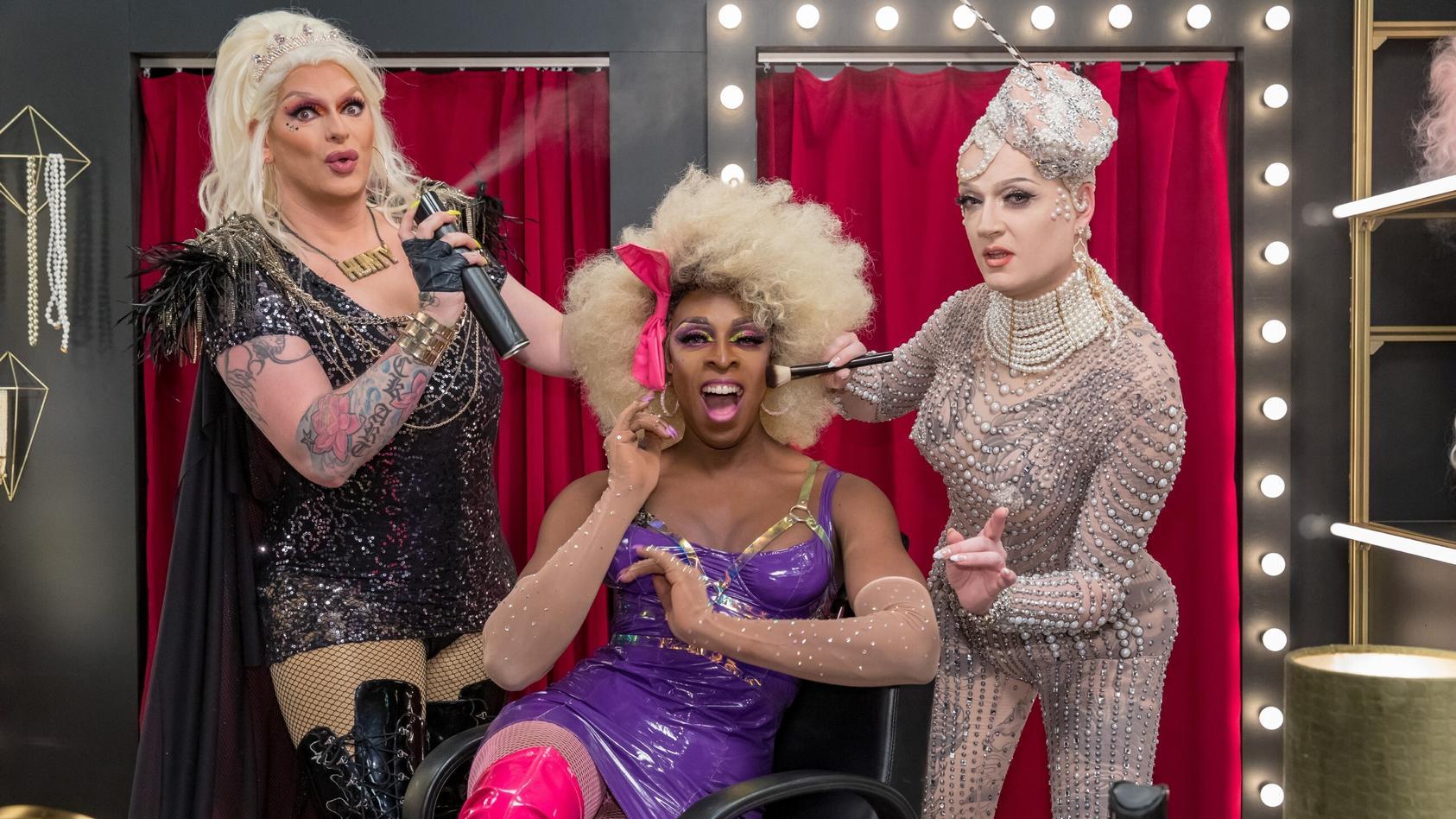 """Barbie, Kelly und Sheela sorgen bei """"The Diva in Me"""" für das passende Makeover."""