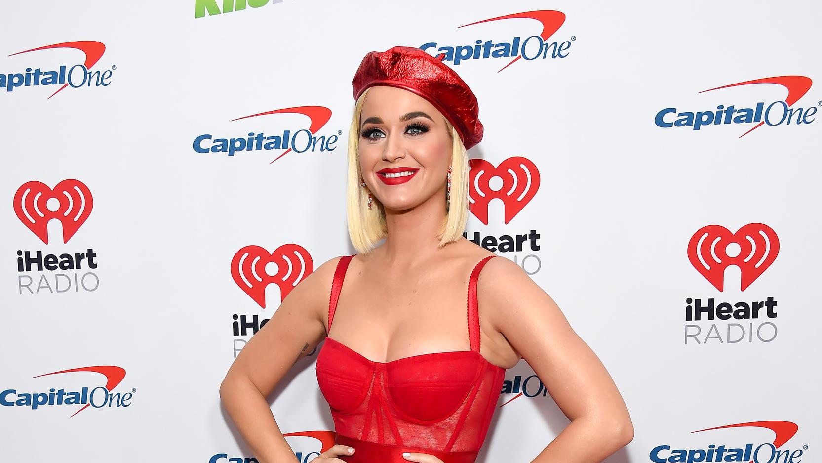 Katy Perry gab im März 2020 ihre Schwangerschaft bekannt.