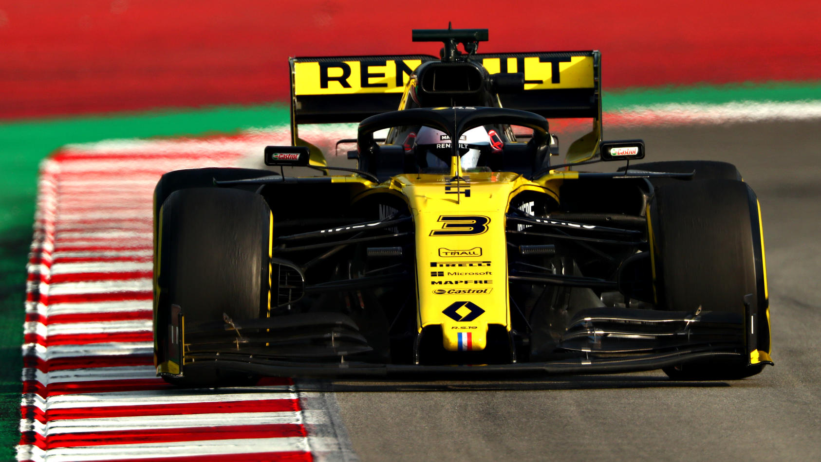 FILE PHOTO: McLaren Announce Signing Of Daniel Ricciardo From Renault For 2021 F1 Winter Testing in Barcelona - Day Three