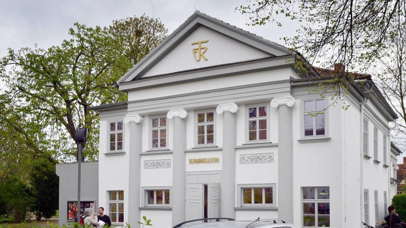 """Der """"Schminkkasten"""" ist eine Spielstätte des Theaters Rudolstadt. Foto: Martin Schutt/dpa-Zentralbild/dpa"""