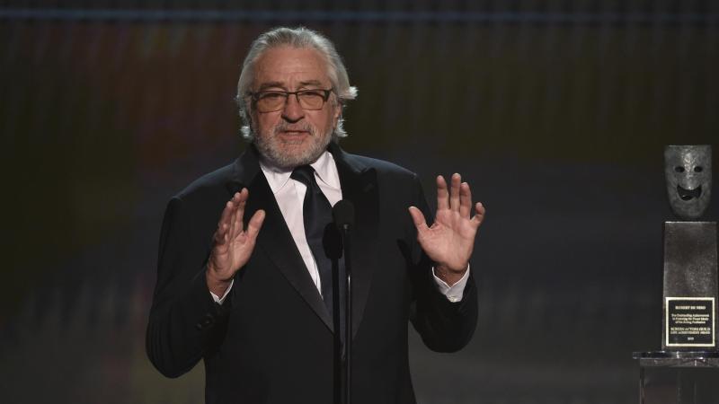 "Robert De Niro:""Wir werden da durchkommen."". Foto: Chris Pizzello/Invision/AP/dpa"