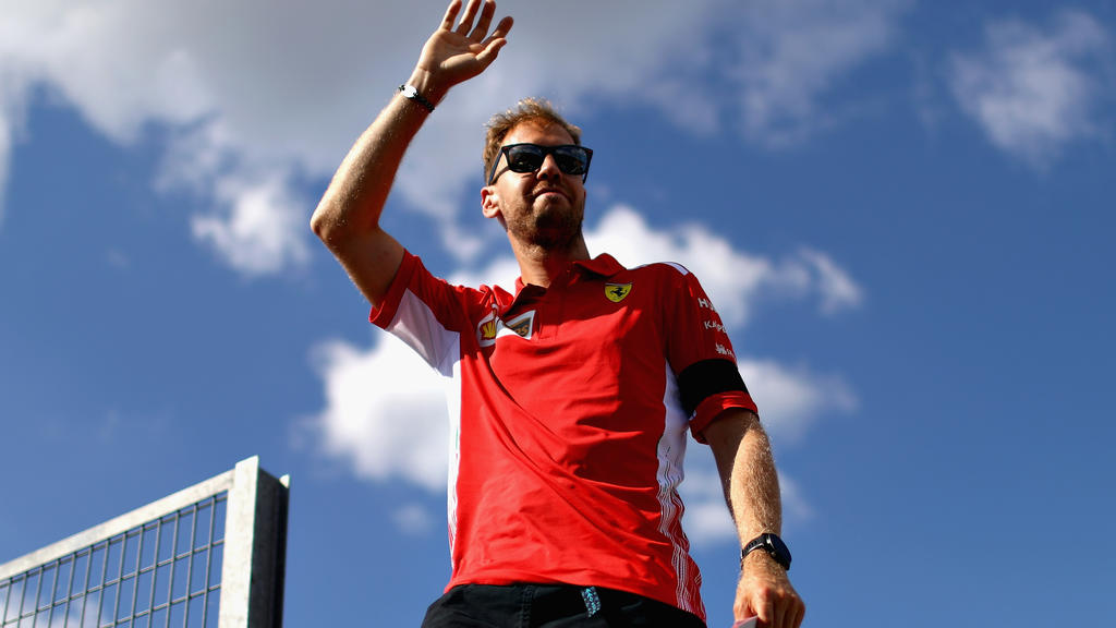 (FILE PHOTO) It has been announced that Sebastian Vettel is to leave Ferrari at end of the current Formula 1 season announced on May 12,2020. BUDAPEST, HUNGARY - JULY 26: Sebastian Vettel of Germany and Ferrari waves to the crowds during previews ahe