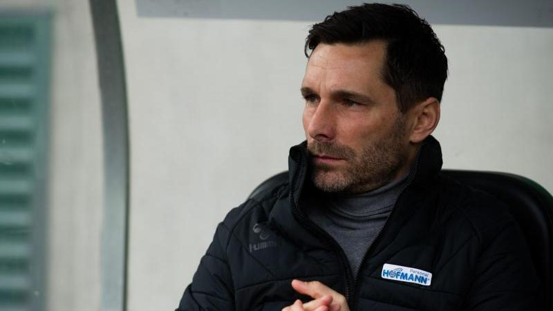 Trainer Stefan Leitl. Foto: Nicolas Armer/dpa/Archivbild