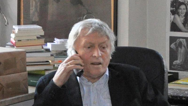 Alfred Kolleritsch ist tot. Foto: Irmgard Rieger/dpa