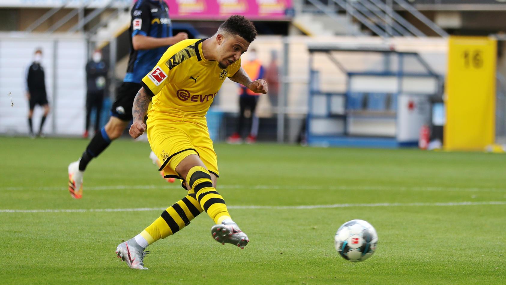 Bundesliga - SC Paderborn v Borussia Dortmund