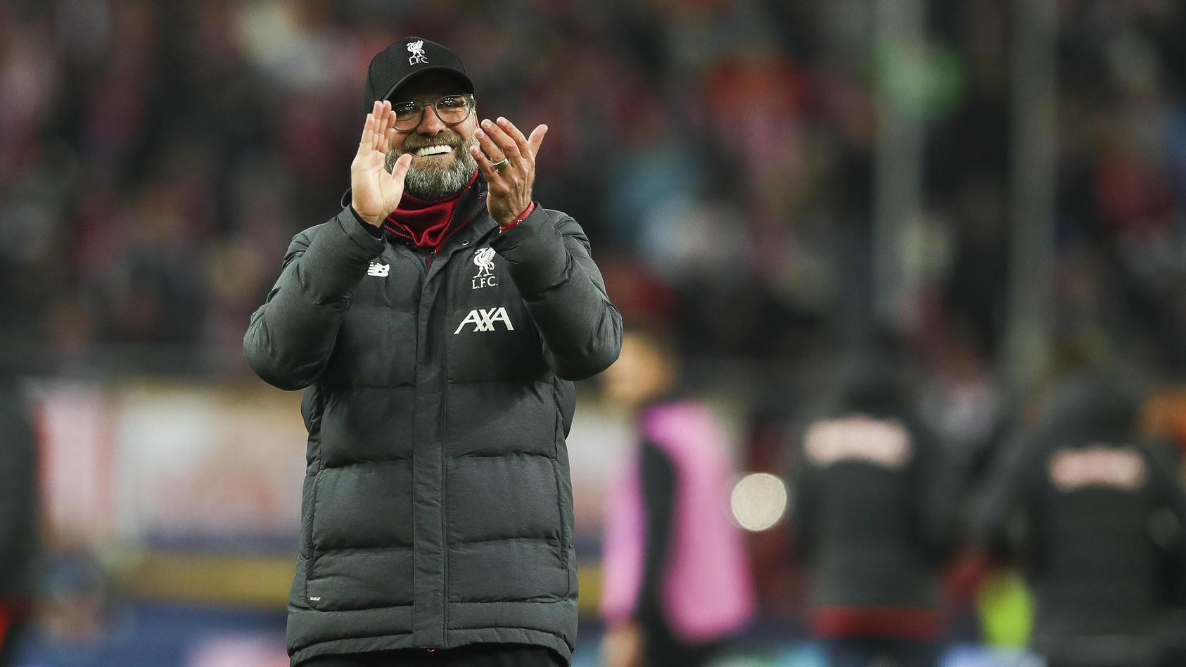 SOCCER - CL, RBS vs Liverpool SALZBURG,AUSTRIA,10.DEC.19 - SOCCER - UEFA Champions League, group stage, Red Bull Salzbu