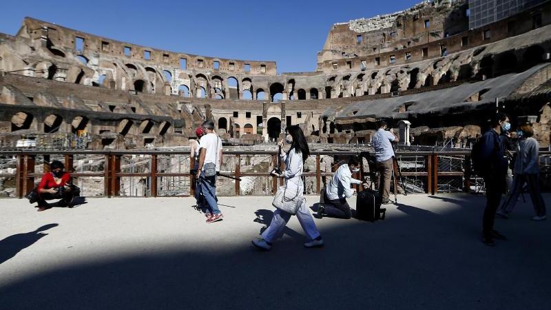 Das Kolosseum ist eine der beliebtesten Touristenattraktionen Italiens. Foto: Cecilia Fabiano/LaPresse/dpa