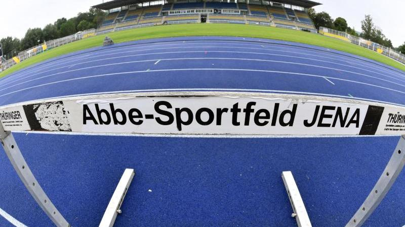 Blick auf das Ernst-Abbe-Sportfeld in Jena. Foto: Martin Schutt/dpa-Zentralbild/dpa/Archivbild