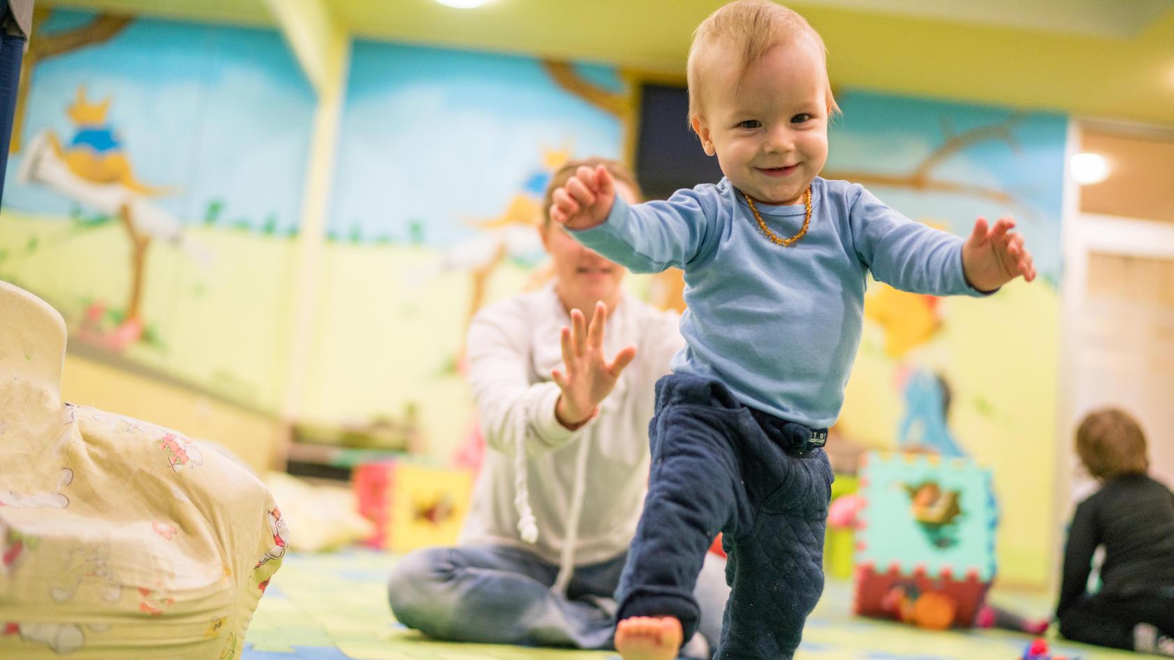 Im PREKiP-Kurs wird das Kind schon früh in seiner Entwicklung gefördert, indem es lernt, aus EIgenmotivation heraus zu handeln. Alles rund um die Vorteile des Babykurses.