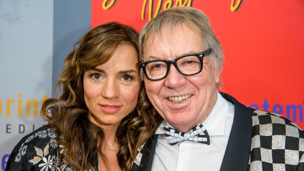 Werner Böhm mit seiner Ehefrau Susanne Böhm auf der Leipziger Buchmesse im Jahr 2013.
