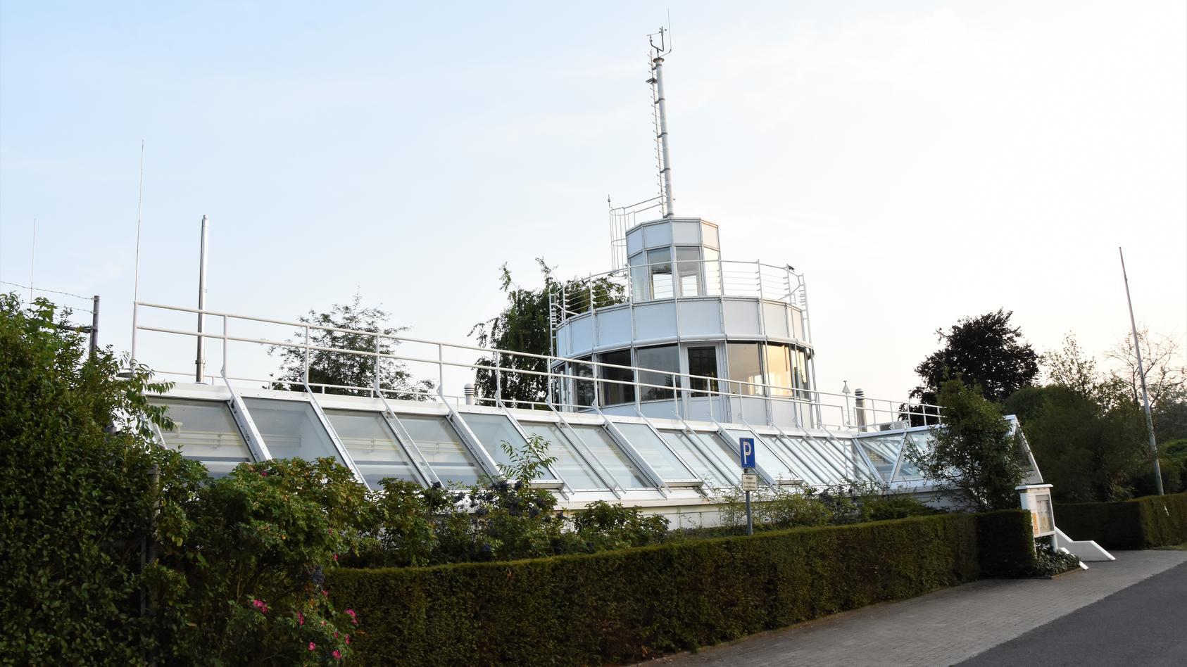 Die Wetterstation in Lingen ist eine offizielle Anlage des Deutschen Wetterdienstes (DWD).