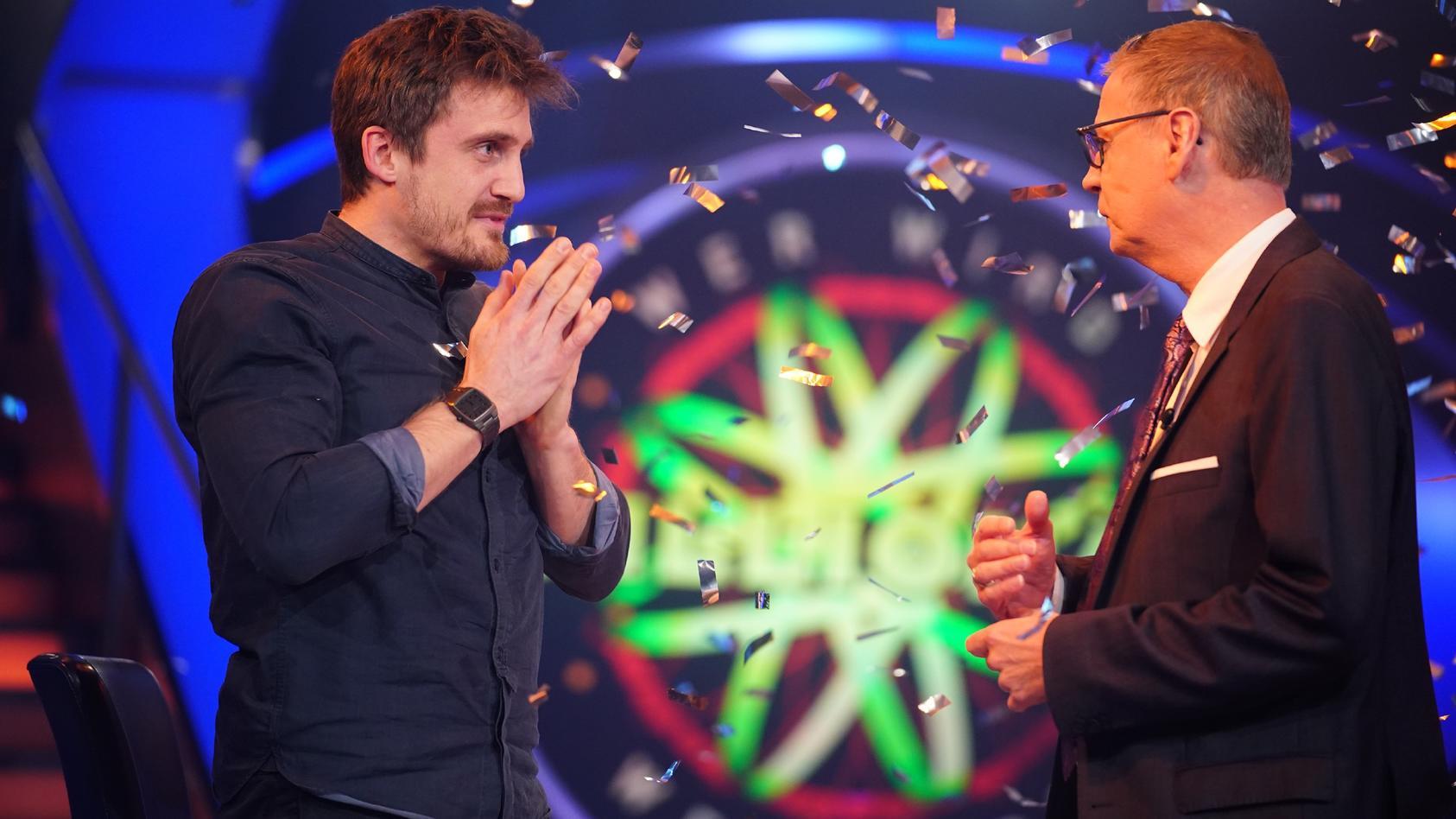 """""""Wer wird Millionär?""""-Kandidat Ronald Tenholte holt bei Günther Jauch die Million"""