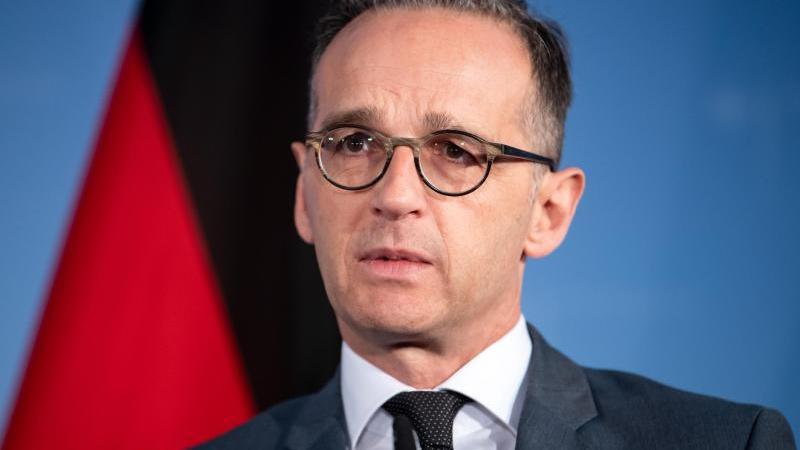 Bundesaußenminister Heiko Maas schätzt die Zusammenarbeit mit US-Streitkräften. Foto: Bernd von Jutrczenka/dpa