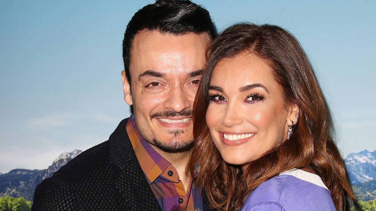 Auch nach 15 Ehejahren noch happy: Giovanni und Jana Ina Zarrella.