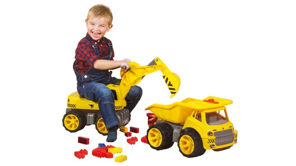 Spielzeug-Bagger von Big.