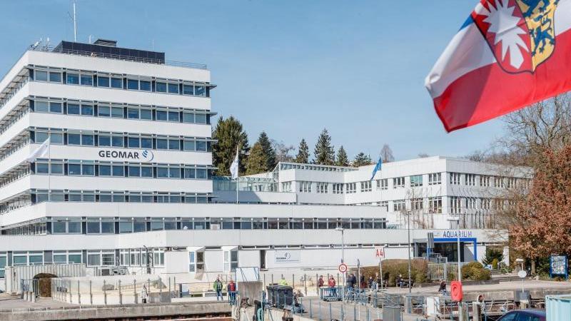 Das Gebäude des Geomar Helmholtz-Zentrum für Ozeanforschung. Foto: Markus Scholz/dpa/Archivbild