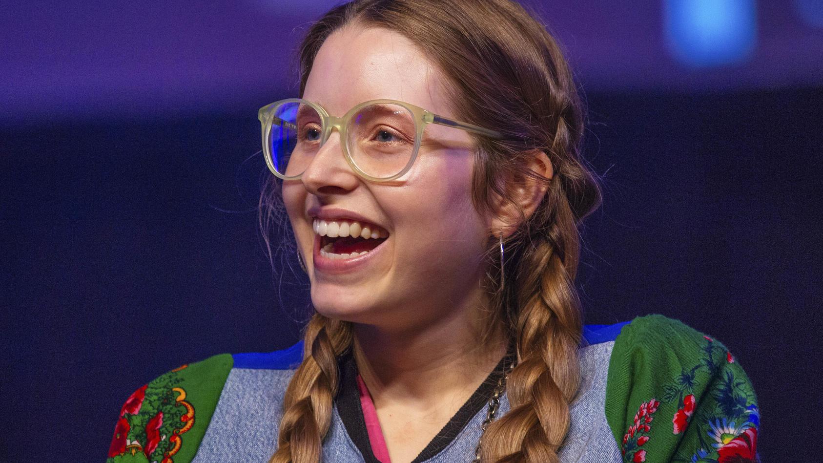 """""""Harry Potter""""-Star Jessie Cave bangt um ihr Baby."""