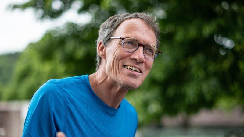 Dieter Baumann, ehemaliger Leichtathlet und Olympiasieger