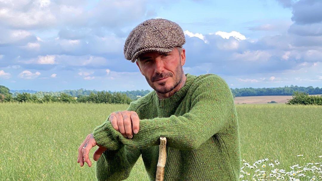 David Beckham ist ein wahrer Naturbursche geworden.