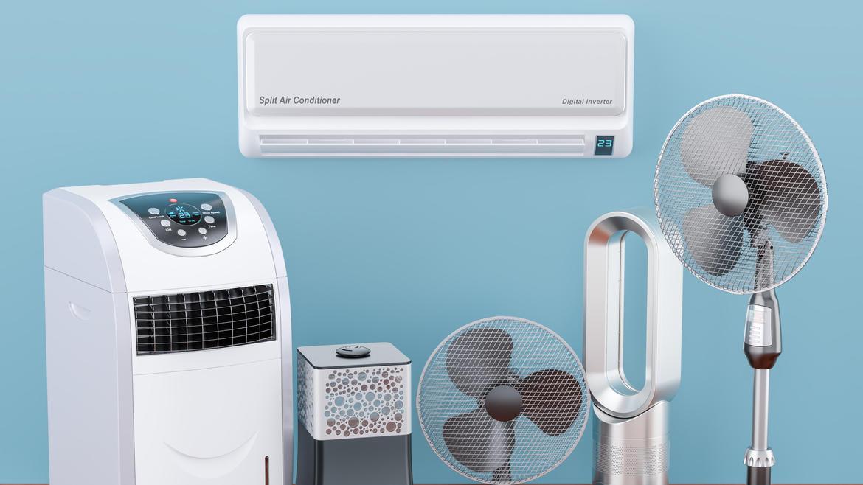 Mit einer Klimaanlage für zuhause kann die nächste Hitzewelle kommen