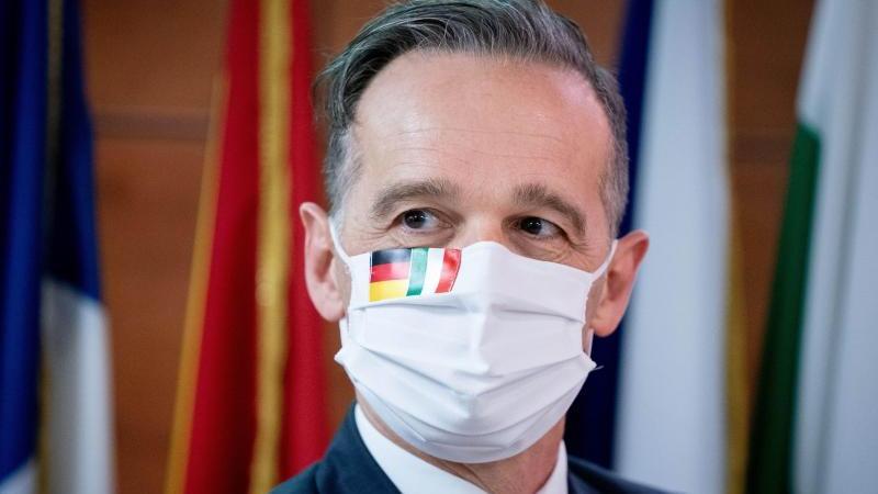 Außenminister Maas rief die Deutschen zur Vorsicht in den Ferien auf. Foto: Kay Nietfeld/dpa