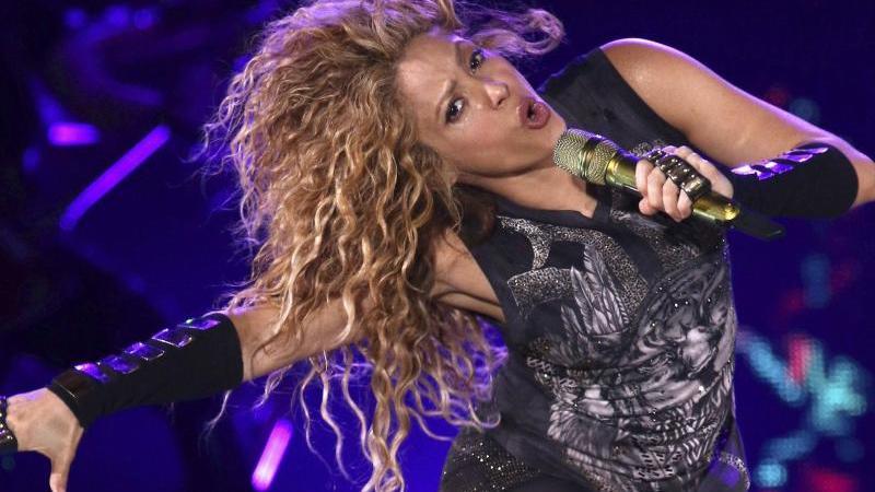 Shakira bei einem Konzert 2018 im Madison Square Garden. Foto: Greg Allen/Invision/AP/dpa