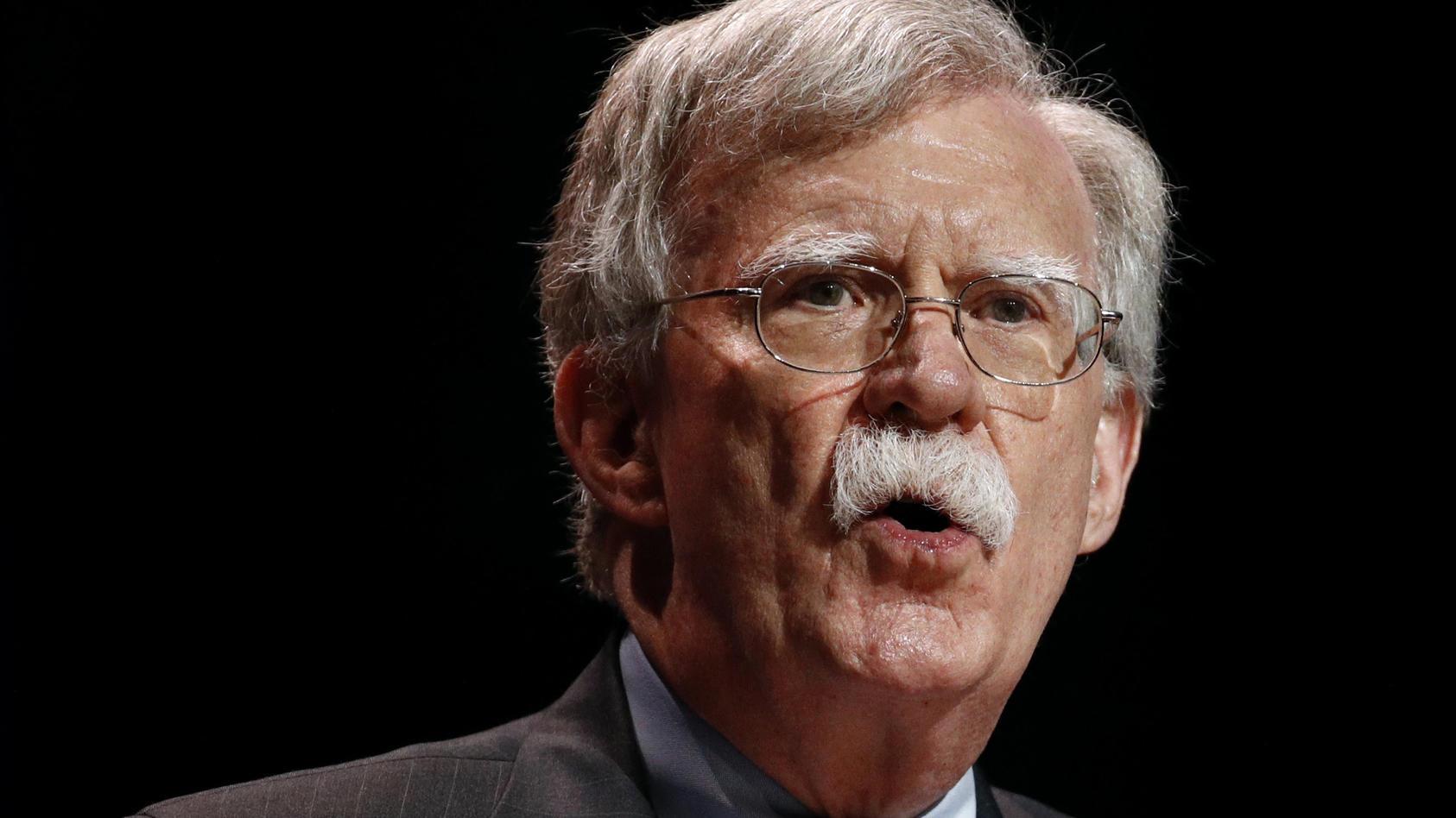 Bolton hofft auf Abwahl Trumps